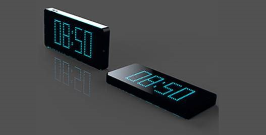Alarm clock powerbank